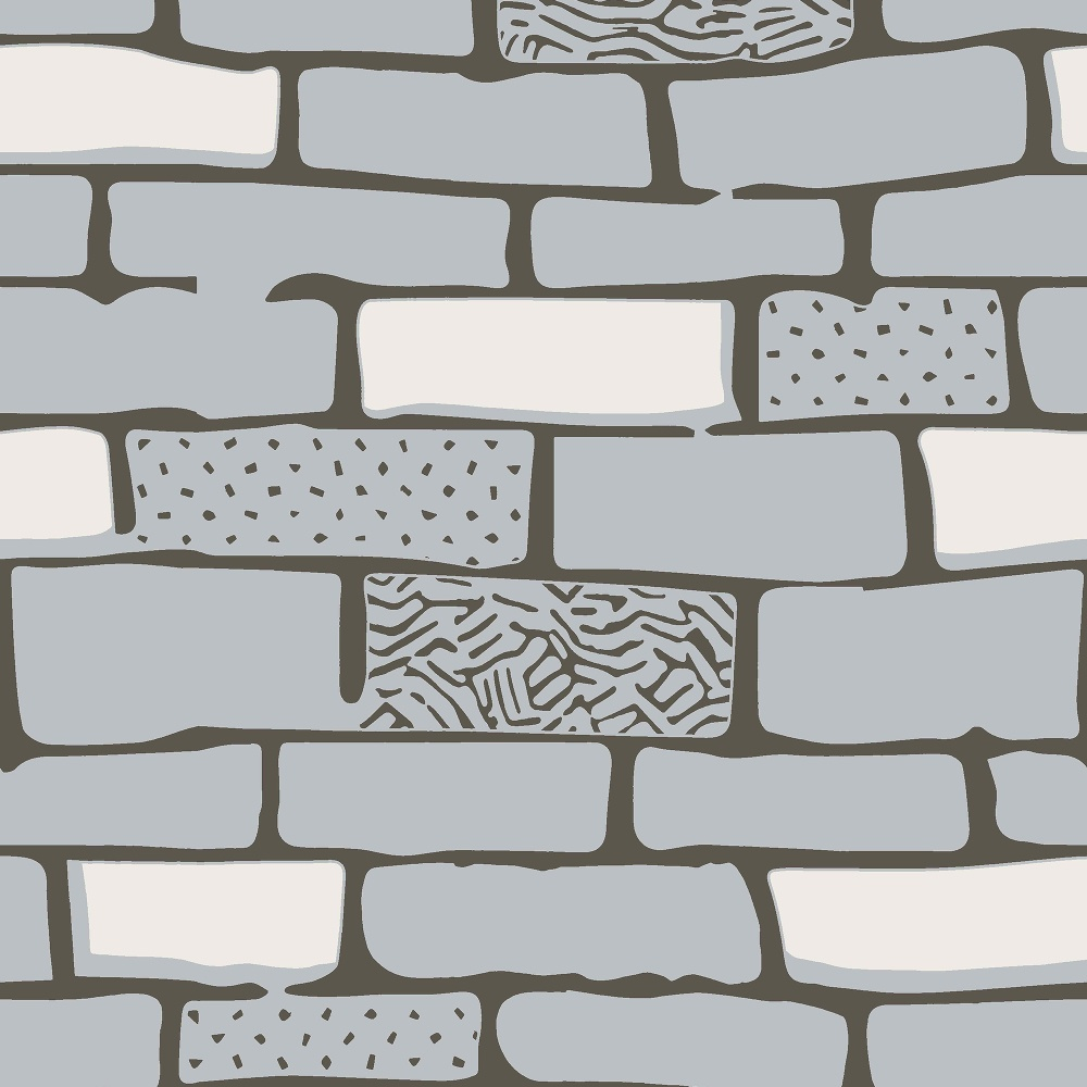 Graham brown hemingway the wall stone effect brick for Dessin mur