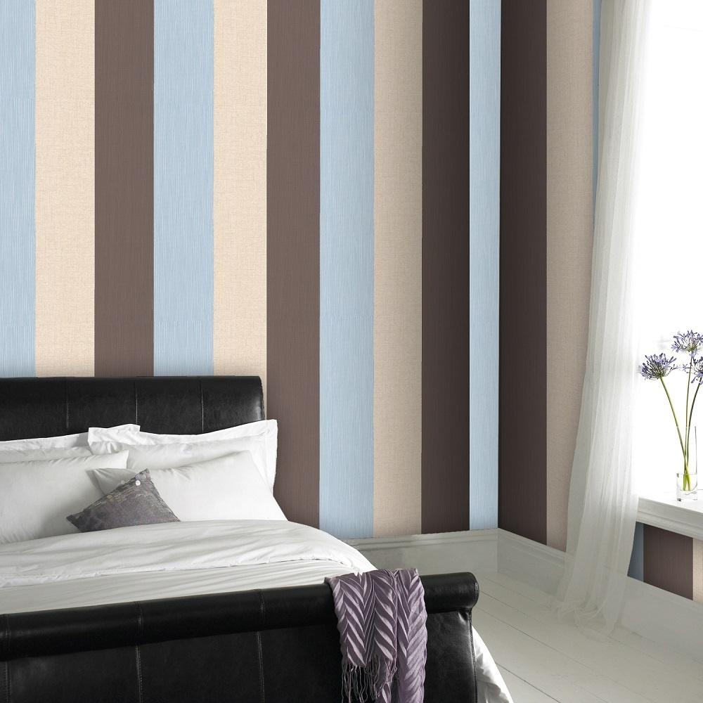 graham brown superfresco java stripe textured vinyl wallpaper 19198. Black Bedroom Furniture Sets. Home Design Ideas