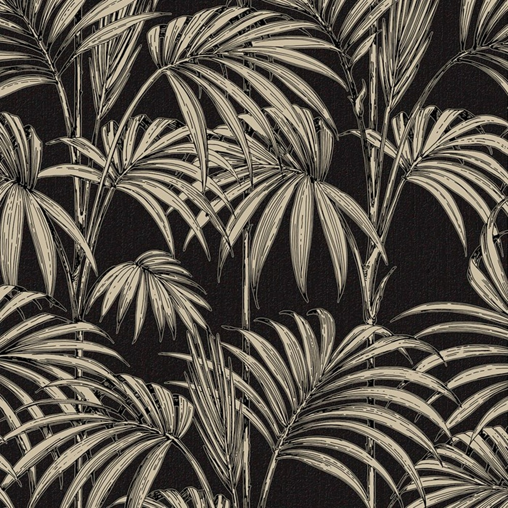 Graham Amp Brown Palm Tree Pattern Leaf Glitter Motif