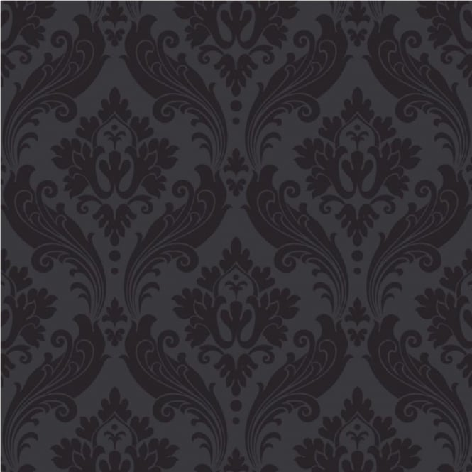 graham brown kelly hoppen vintage flock damask wallpaper