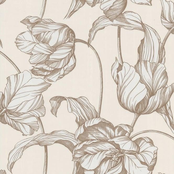 Graham & Brown Laurence Llewelyn-Bowen Harem Tuilps Floral
