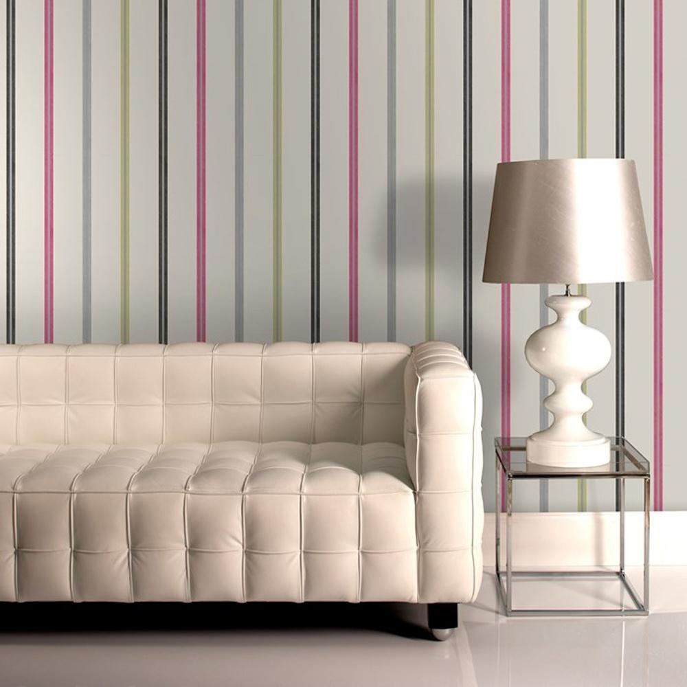 graham brown llewelyn bowen stripe metallic designer wallpaper 50 886. Black Bedroom Furniture Sets. Home Design Ideas
