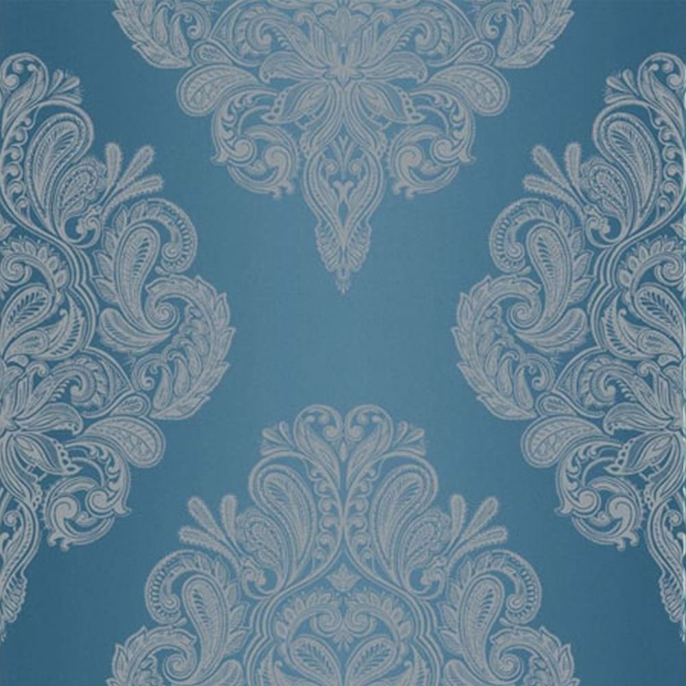 graham brown llewelyn bowen silver damask pattern