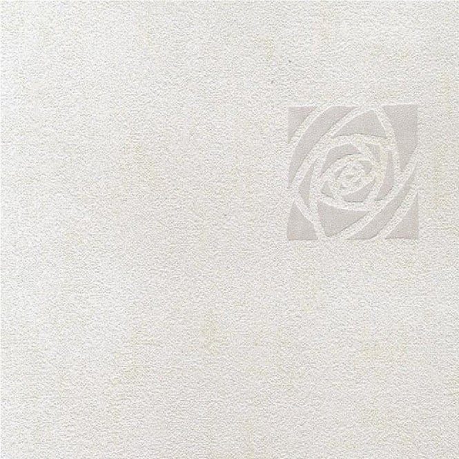 Graham Brown Mica Rose White Wallpaper 13438