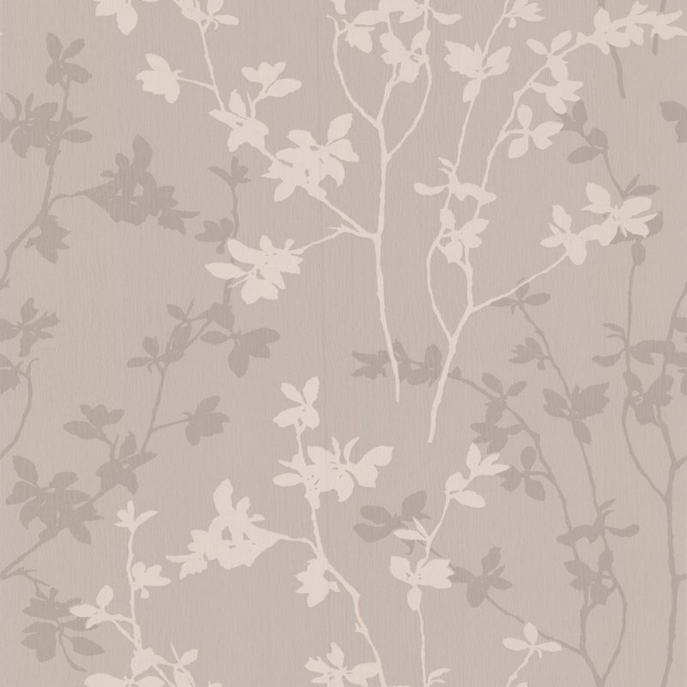 graham brown superfresco nature taupe leaf trail