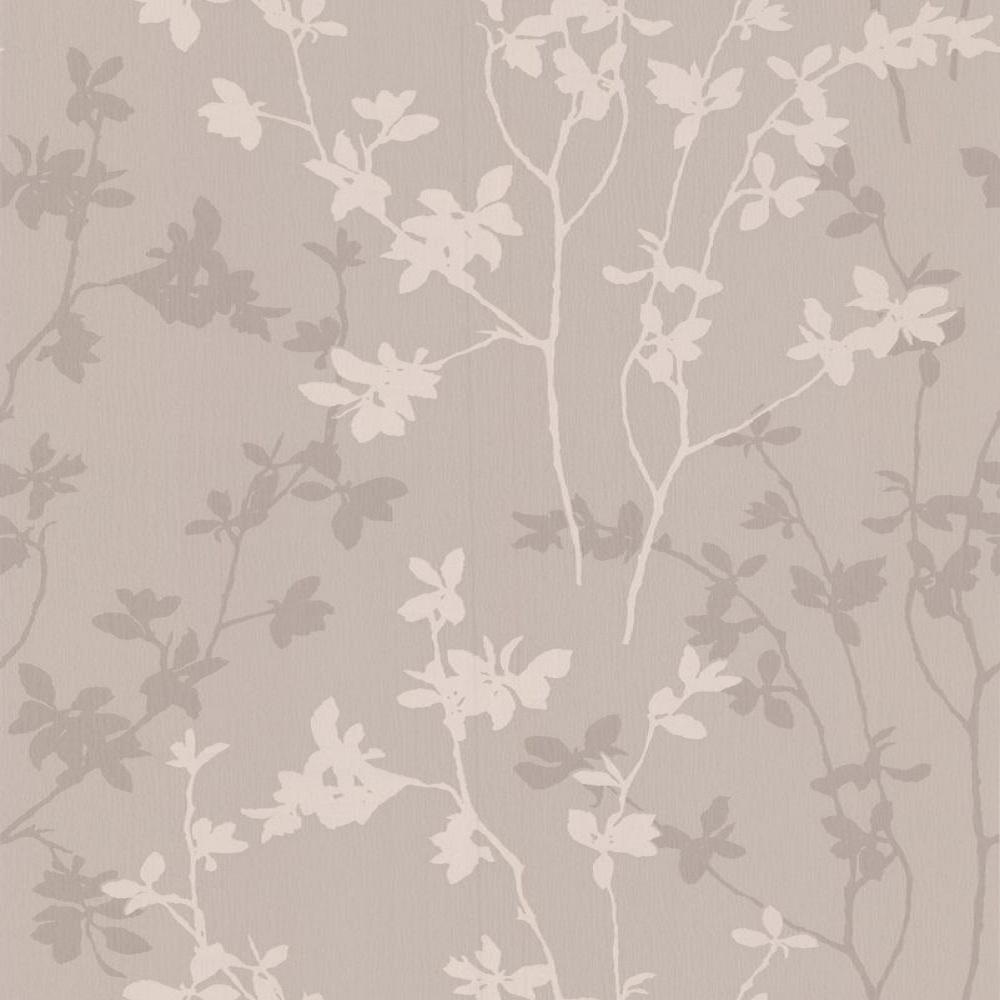graham brown superfresco nature taupe leaf trail textured wallpaper 19650. Black Bedroom Furniture Sets. Home Design Ideas