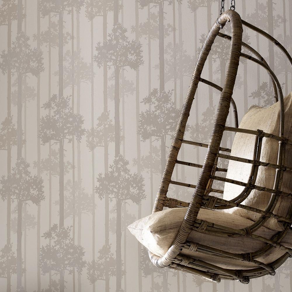 graham  brown nottingham tree motif metallic superfresco wallpaper - graham amp brown nottingham tree motif wallpaper