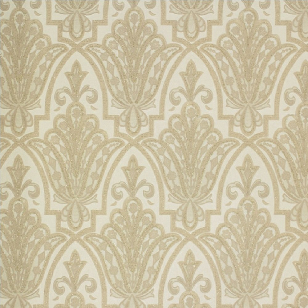 graham brown ritzy damask heavyweight vinyl glitter