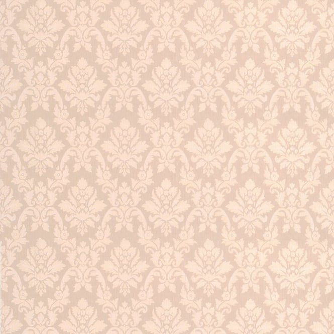 Graham Brown Superfresco Damask Beige Wallpaper 17355