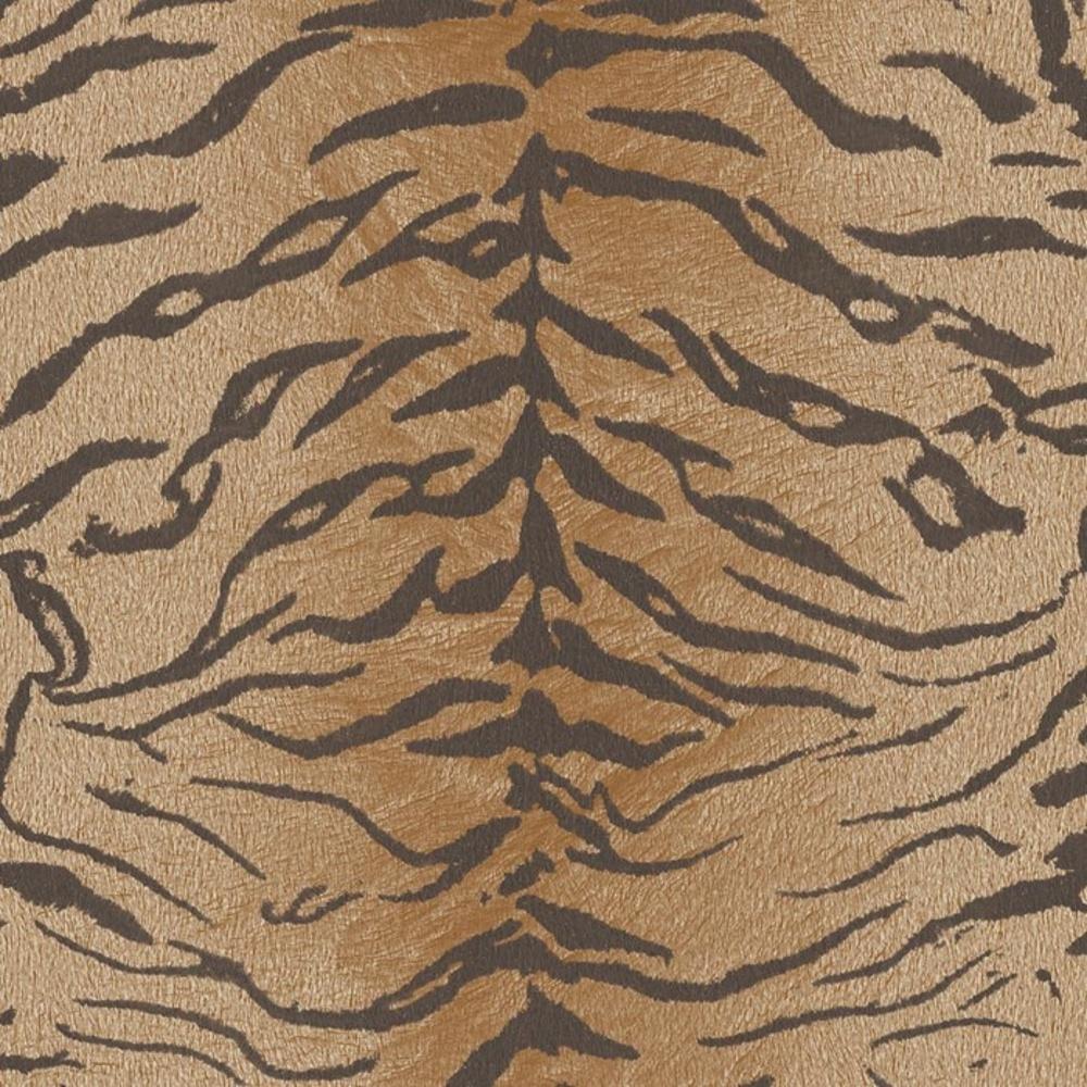 brown tiger print wallpaper - photo #1