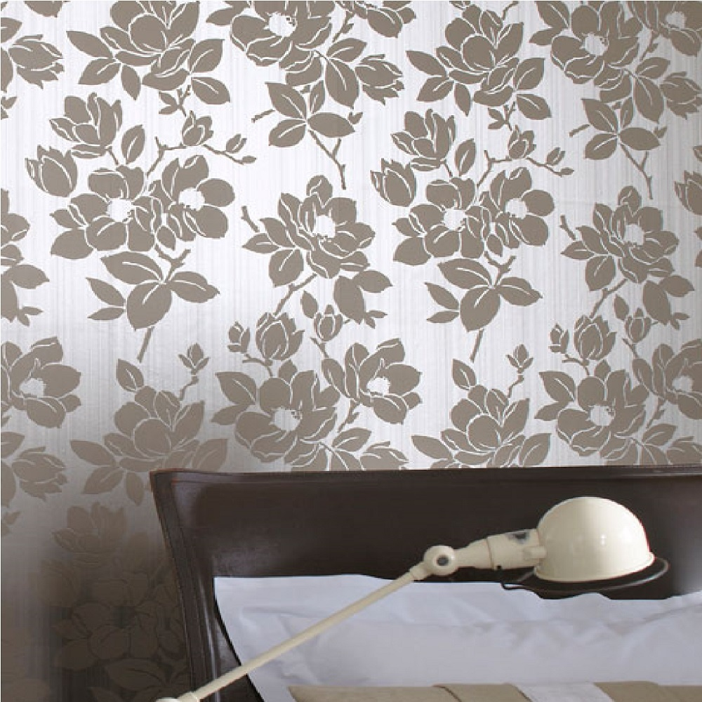 Kelly Hoppen Rose Floral Wallpaper 30 395