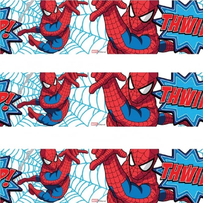 Marvel Comics Spiderman Thwipp! Wallpaper Border 90 043