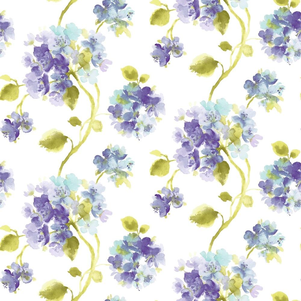 Grandeco Aquarelle Floral Wallpaper POB-006-04-9