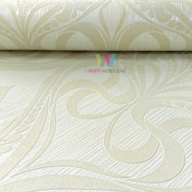 Grandeco Art Nouveau Damask Pattern Wallpaper Art Deco Metallic Glitter 113003
