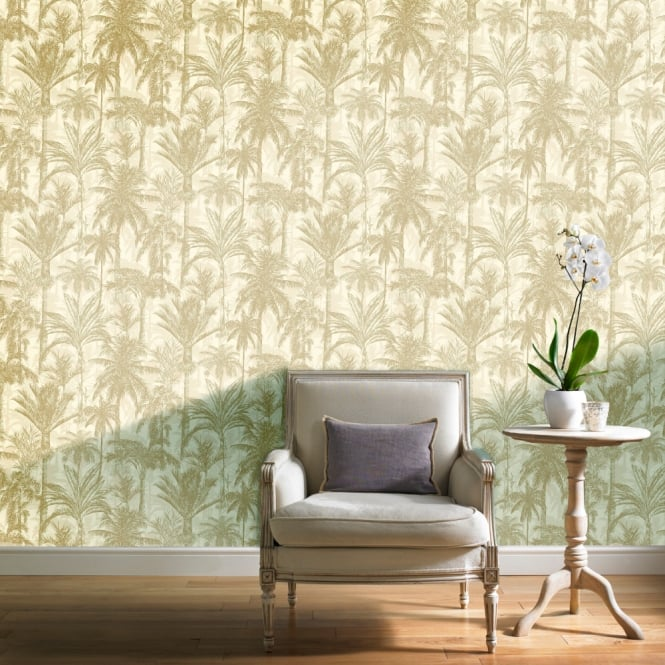 Grandeco Botanical Trees Pattern Wallpaper Forest Leaf Modern Metallic Textured BA2304