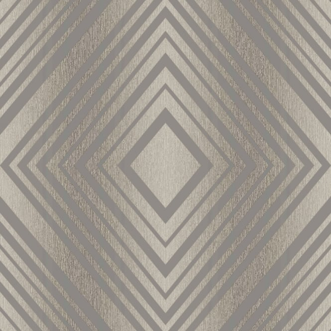 Grandeco Chevron Stripe Pattern Wallpaper Modern Embossed Metallic Glitter Motif A15803