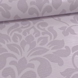 Grandeco Elite Floral Damask Pattern Glitter Motif Embossed Wallpaper A13903