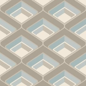 Grandeco Geometric Chevron Stripe Pattern Wallpaper Metallic Silver Glitter Motif A16002