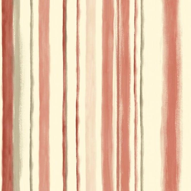 Grandeco Aquarelle Stripe Wallpaper POB-005-01-3