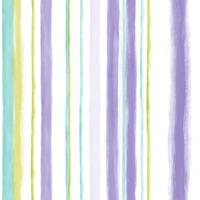 Grandeco Aquarelle Stripe Wallpaper POB-005-04-0