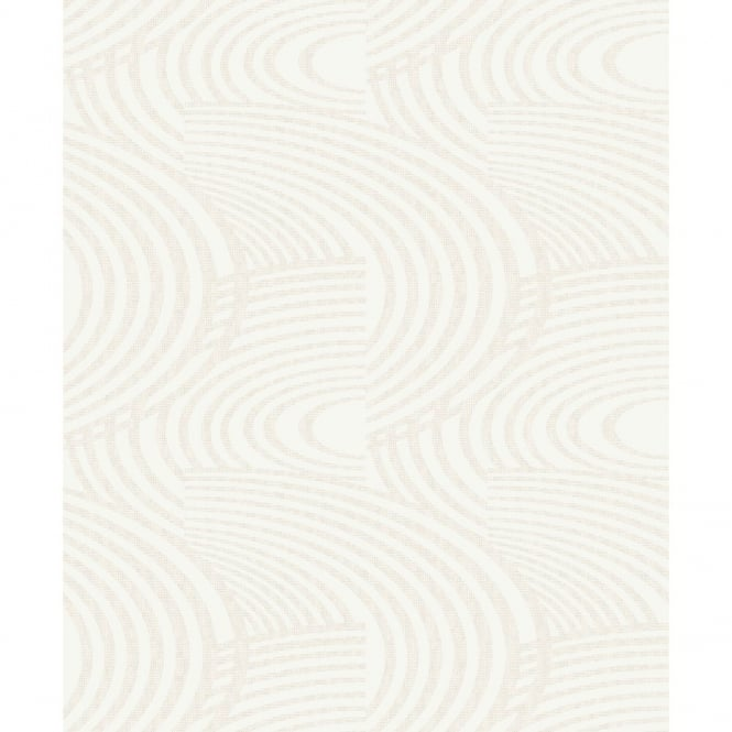 Grandeco Oasis Curve Stripe Pattern Metallic Glitter Textured Wallpaper A10611