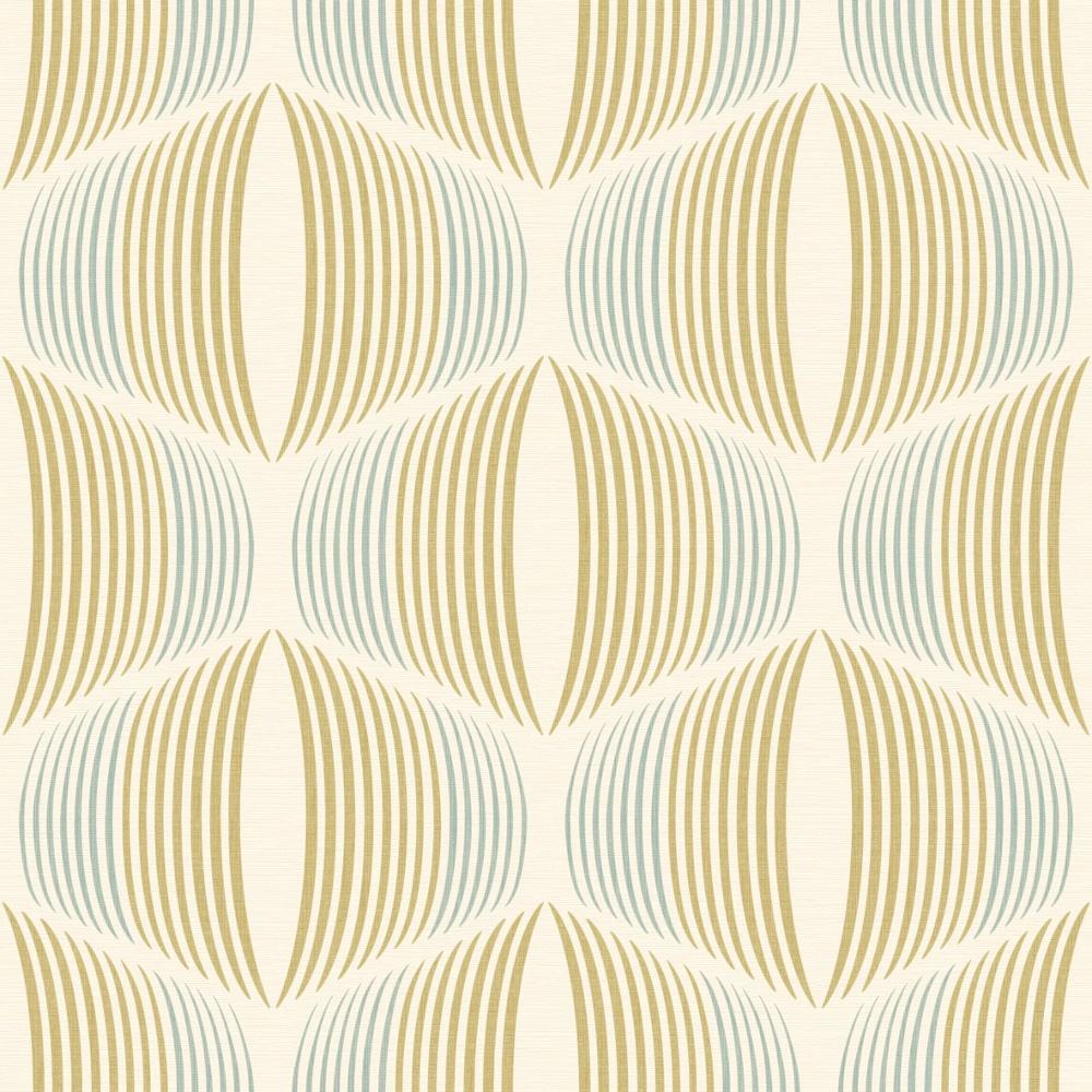 grandeco stripe retro vintage pattern textured wallpaper. Black Bedroom Furniture Sets. Home Design Ideas
