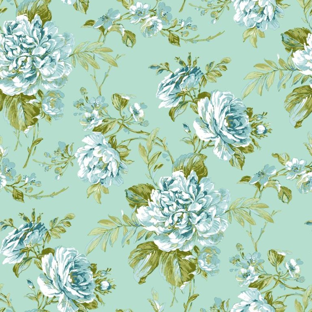 grandeco royal bouquet floral leaf flower motif wallpaper. Black Bedroom Furniture Sets. Home Design Ideas