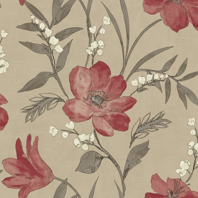 Grandeco Royal House Elise Floral Wallpaper 922091