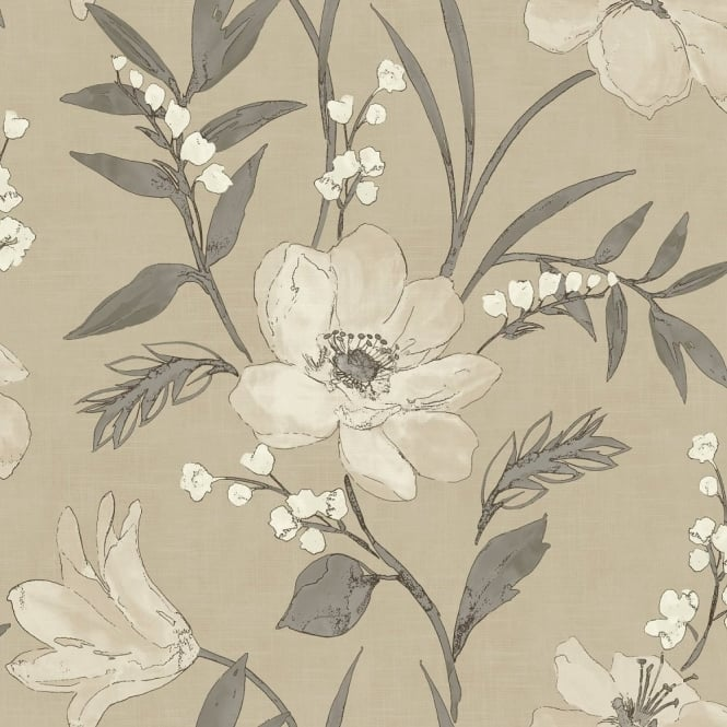 Grandeco Royal House Elise Floral Wallpaper 922097