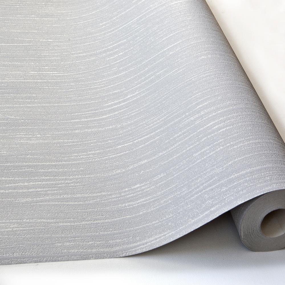 Grandeco ideco glitz glitter striped pattern vinyl for Striped vinyl wallpaper