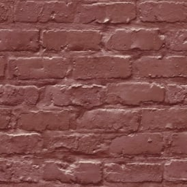 Grandeco Ideco Painted Brick Wall Pattern Faux Effect Motif Wallpaper A10403