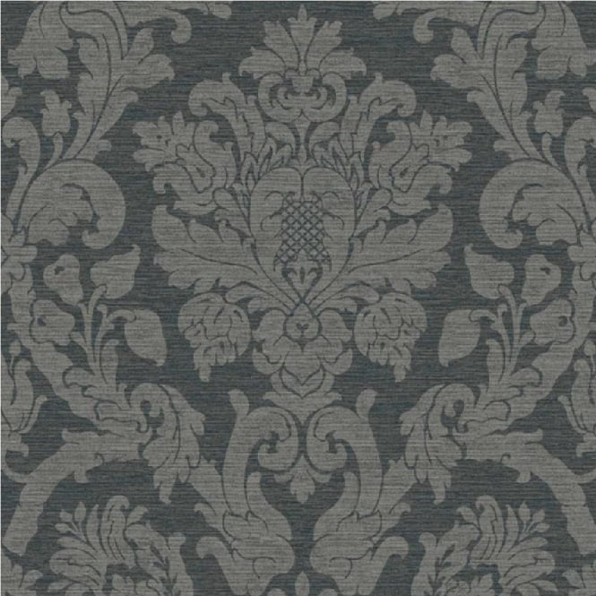 Grandeco Kensington Damask Glitter Wallpaper 29020003