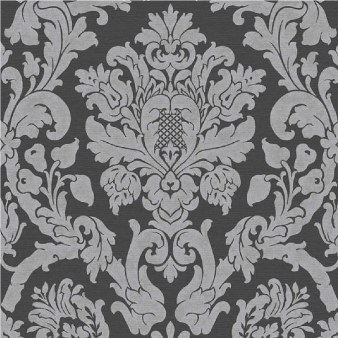 Grandeco Kensington Damask Glitter Wallpaper V.416-05