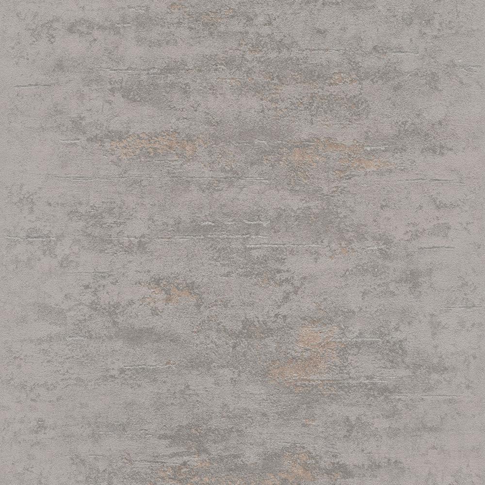 grandeco orion concrete stone distressed metallic