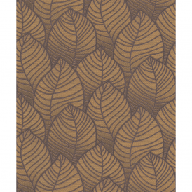 Grandeco Orion Floral Leaf Pattern Embossed Motif Non-Woven Wallpaper