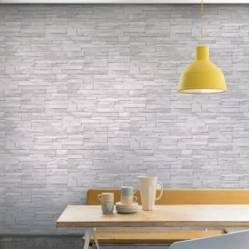 Grandeco Stone Pattern Wallpaper Faux Effect Realistic Embossed Brick A17201