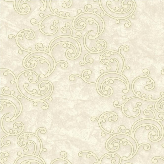 Grandeco Venice Scroll Textured Embossed Blown Vinyl Wallpaper VNA-003-002-7