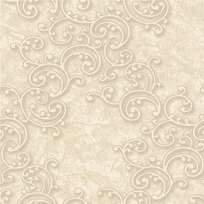 Grandeco Venice Scroll Textured Embossed Blown Vinyl Wallpaper VNA-003-004-1