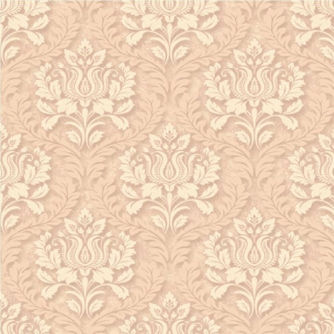 Grandeco Venice Small Damask Textured Embossed Blown Vinyl Wallpaper VNA-006-009-3