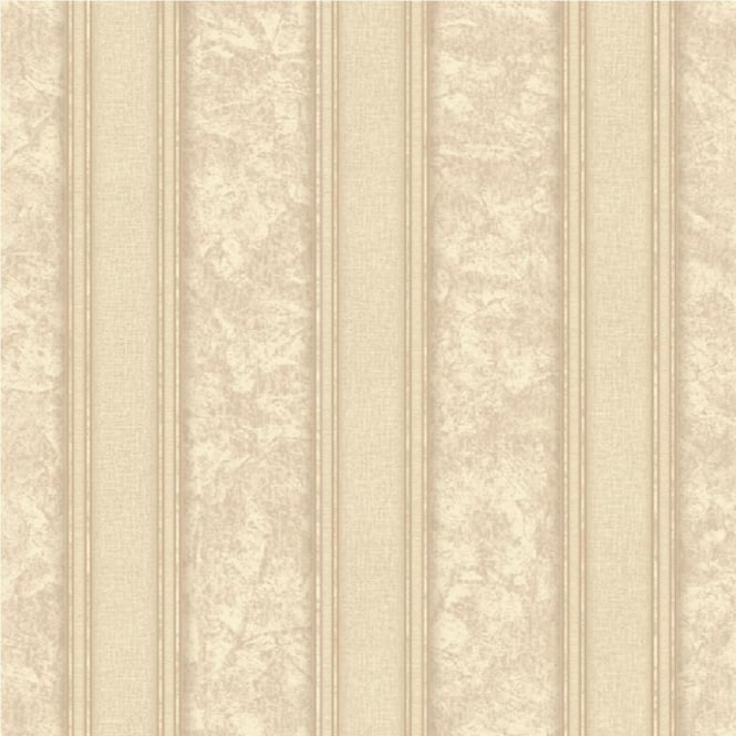 Grandeco Venice Stripe Textured Blown Vinyl Striped Wallpaper VNA-004-004-0