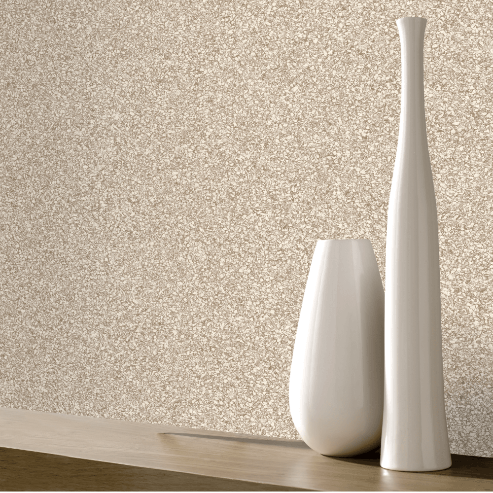 Granite Beige Grey Smooth Stone Effect Modern Wallpaper 220001