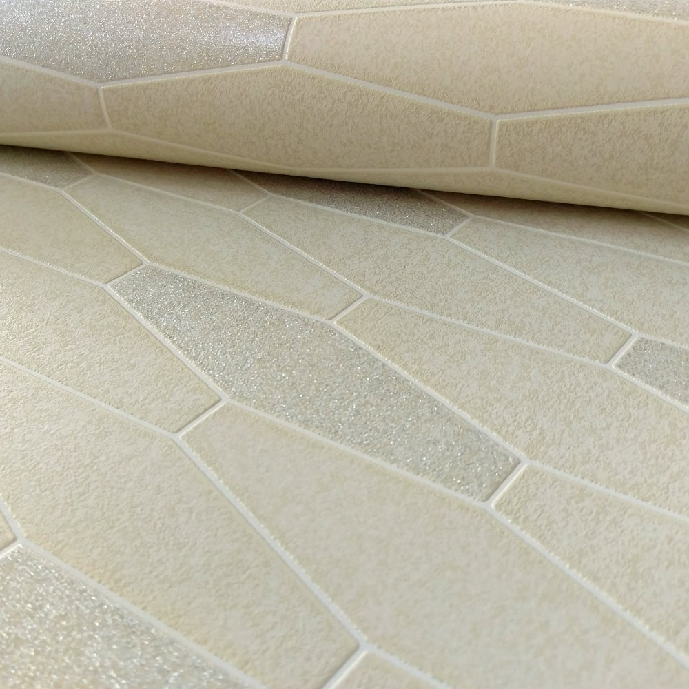 Holden Apex Tile Effect Pattern Wallpaper Marble Glitter Motif ...