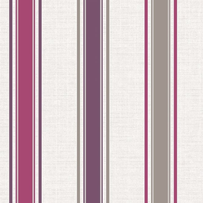 Holden Decor Holden Décor Dominica Stripe Glitter Striped Textured Blown Vinyl Wallpaper 75661