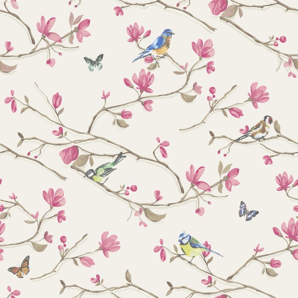 holden décor kira bird butterfly pattern floral flower motif