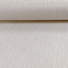 Holden Décor Siena Plain Stripe Pattern Embossed Heavy Weight Vinyl Wallpaper 35183