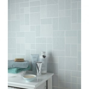Holden Décor Tile Pattern Glitter Motif Kitchen Bathroom Vinyl Wallpaper 89241