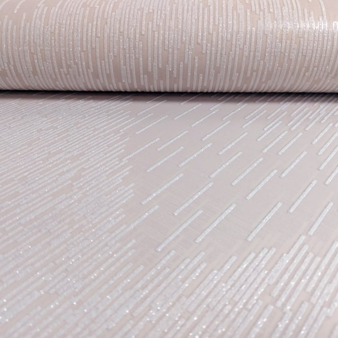 Holden Decor Holden Fragment Embossed Stripe Pattern Wallpaper Glitter Chevron Motif Textured 65411