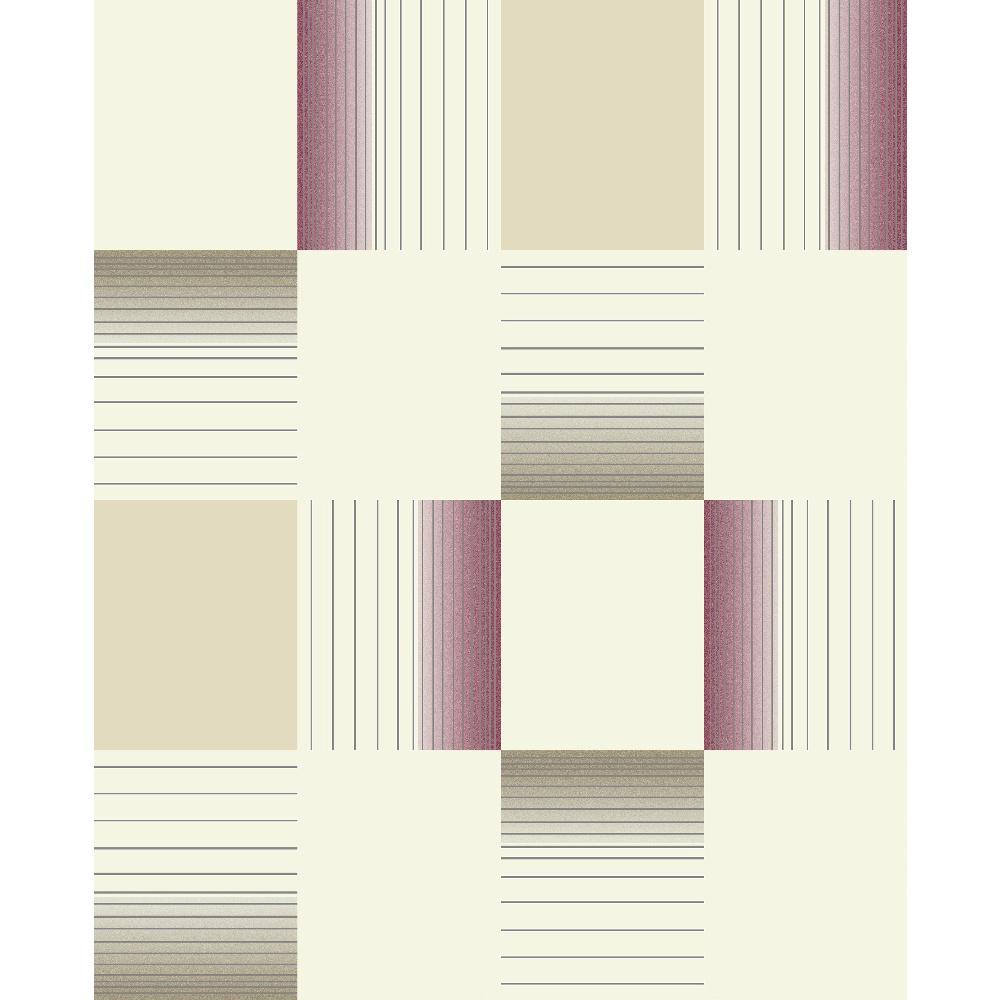 Holden hikari square stripe pattern embossed vinyl for Striped vinyl wallpaper