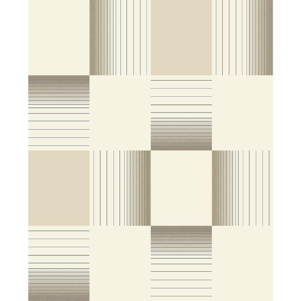 Holden hikari square stripe pattern embossed vinyl tile for Striped kitchen wallpaper
