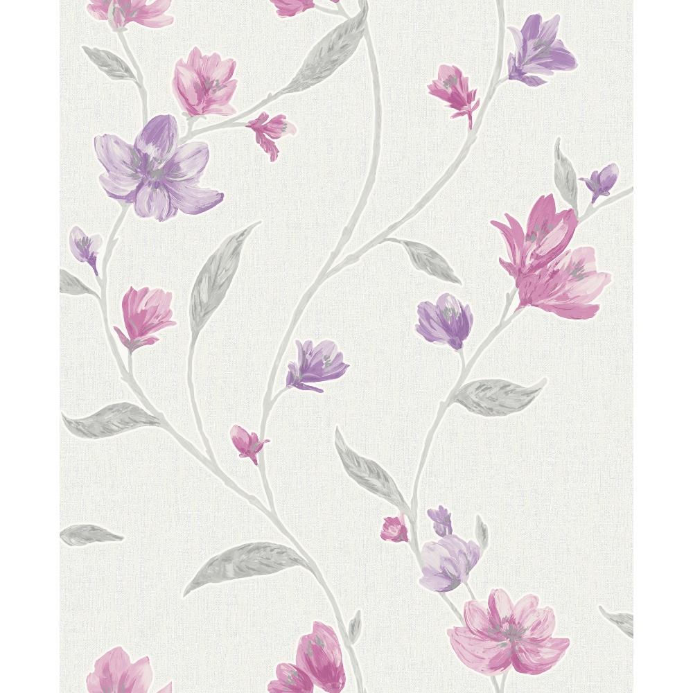 Holden K2 Avonlea Floral Pattern Flower Textured Vinyl